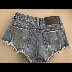 Girls One Teaspoon shorts